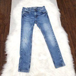 2/15$ 🎆 George   Stretch Skinny Fit Denim Blue Jeans Boys 7